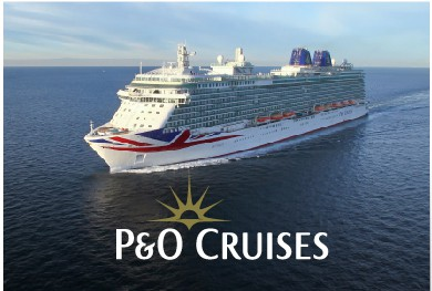 P&O Cruises UK at Sea