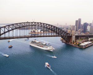 Princess Cruises in Sydney Harbour