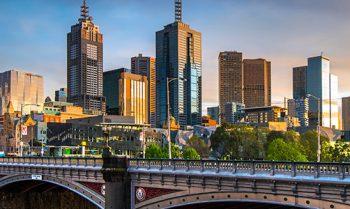 View of Melbourne Cityscape