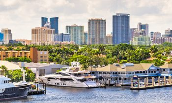Fort Lauderdale City Skyline