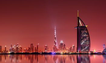 Dubai City Skyline